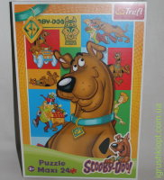 Пазлы Maxi 24, SCOOBY-Doo!